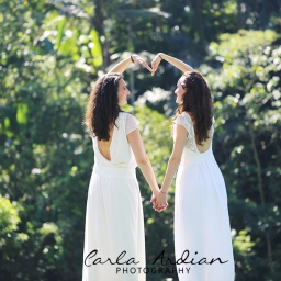 Audrey and Pauline, Bali Post Wedding Photographer